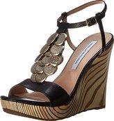 Diane von Furstenberg Women's Stefy Wedge Sandal