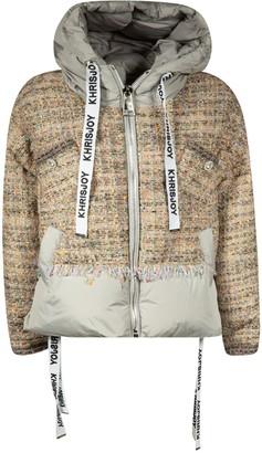KHRISJOY Large Hood Zip Jacket