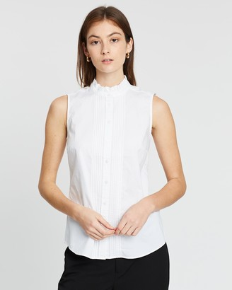 Banana Republic Riley Pintuck Top
