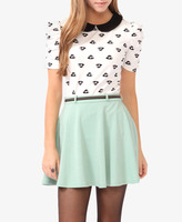 FOREVER 21 Hat Print Top