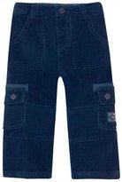 Jo-Jo JoJo Maman Bebe Cord Utility Trousers (Toddler/Kid) - Navy-4-5 Years