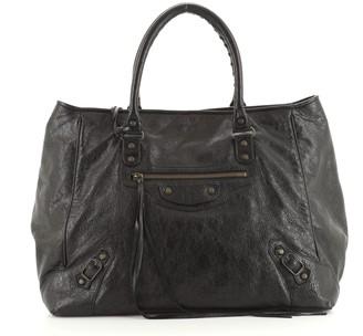 Balenciaga Sunday Tote Classic Studs Leather Large