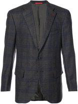 Isaia checked blazer - men - Cashmere/Wool - 50