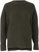 Amanda Wakeley Crest Midnight Knit Sweater