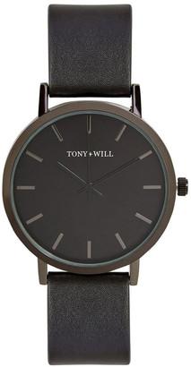 TONY+WILL Classic Black TWT000D Watch