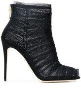 Dolce & Gabbana - tulle stiletto boot