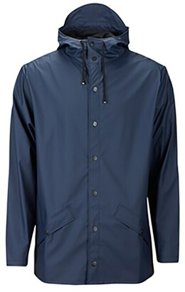 Rains Unisex Jacket Blue S/M