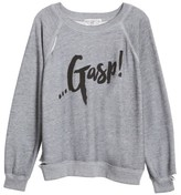 Wildfox Couture Women's Gasp Thrashed Sommers Sweatshirt