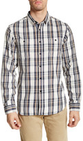 Howe Long Sleeve Brighton Plaid Flannel Regular Fit Shirt