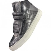 Maison Margiela Anthracite Patent leather Trainers