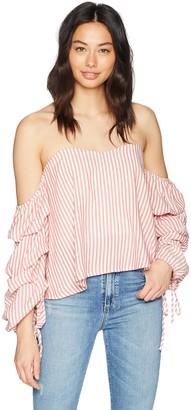 Bardot Women's TIE Sleeve Bustier