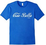Men's Ciao Bella Italia T-shirt Italian Greeting Tee 3XL
