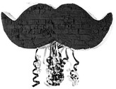 BuySeasons Little Man Mustache Pull-String Pinata