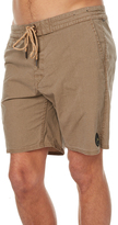 Rusty Pure All Day Mens Boardshort Brown