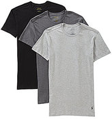 Polo Ralph Lauren Slim-Fit Cotton Crew Assorted 3-Pack