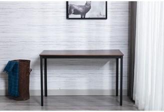 "Latitude Run Hian Desk Color: Distressed Brown, Size: 29.5"" H x 47.2"" W x 23.6"" D"