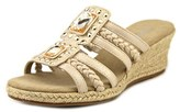 Easy Street Shoes Bazinga Women N/s Open Toe Synthetic Wedge Sandal.