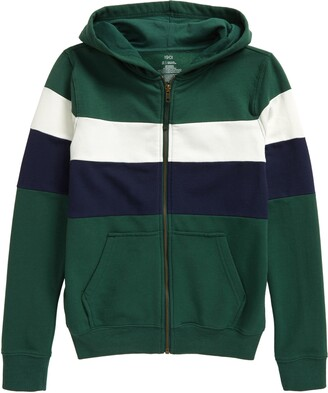 1901 Kids' High Tide Colorblock Zip Hoodie