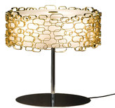 Terzani Glamour Table Lamp - Gold Plated