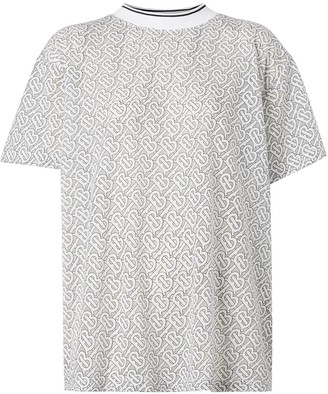 Burberry monogram pattern T-shirt