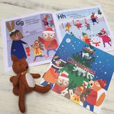 from you to me Personalised A To Z Of Christmas Book And Games