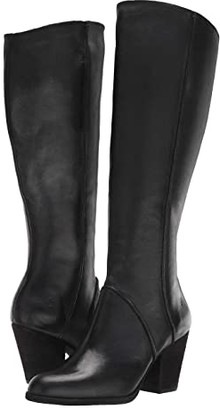 Frye Essa Seam Tall (Black) Women's Boots