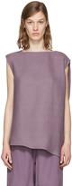 Rick Owens Purple Nouveau Blouse