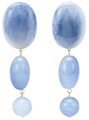 Lele Sadoughi Bubble Drop 14kt gold-plated earrings