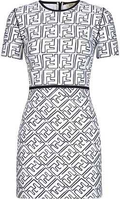 Fendi x Joshua Vides FF print dress