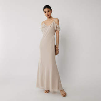 Warehouse COLD SHOULDER BRIDESMAID DRESS