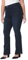 NYDJ Plus Size Women's Billie Stretch Mini Bootcut Jeans