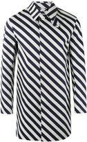 MACKINTOSH striped coat - men - Cotton - 40