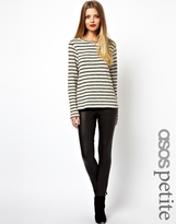 Asos Leather Look Leggings - Black