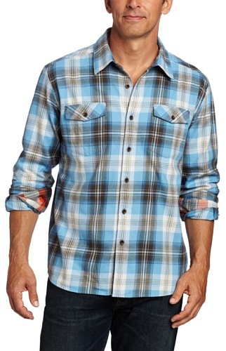Quiksilver Waterman Men's Kings Cove Woven Shirt
