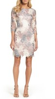 Eliza J Petite Women's Lace Sheath Dress