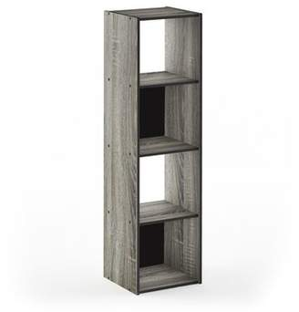 Ebern Designs Anzalone Cube Bookcase Ebern Designs Color: French Oak Gray