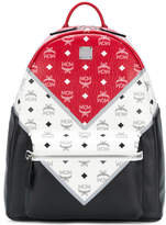 MCM colour block backpack