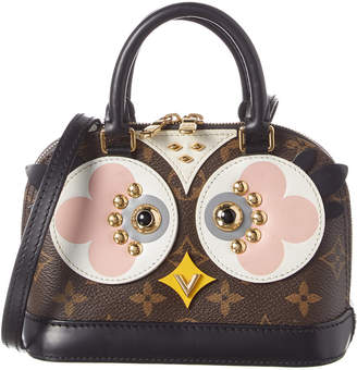Louis Vuitton Monogram Canvas Macassar Owl Alma Bb