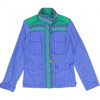 Fay Blue Polyester Jackets