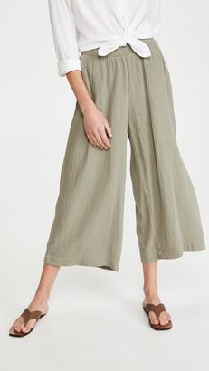 Nation Ltd. Palermo Wide Leg Gauze Pants