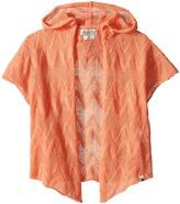 Lucky Brand Kids Drapey Hooded Kimono (Toddler)