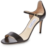 Jimmy Choo Moxy Two-Piece Leather Sandal