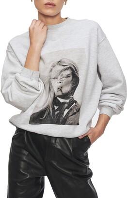 Anine Bing x Terry O'Neill Graphic Sweatshirt