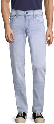 True Religion Geno Relaxed Slim-Fit Flap-Pocket Jeans