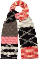 Missoni Cable-knit wool-blend scarf