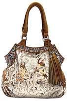 Diana Casey Mystic Wolf Native American-Inspired Women's Handbag by The Bradford Exchange