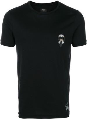 Fendi Karlito motif T-shirt