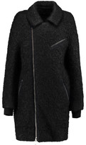DKNY Wool And Mohair-Blend Coat