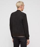 AllSaints Stones Leather Bomber Jacket