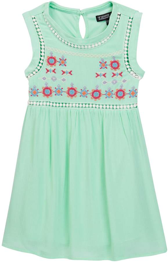 Trixxi Sleeveless Embroidered Dress (Big Girls)